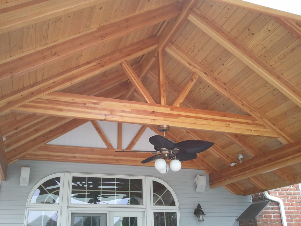 Exposed Beam Roofing Construction Contractors